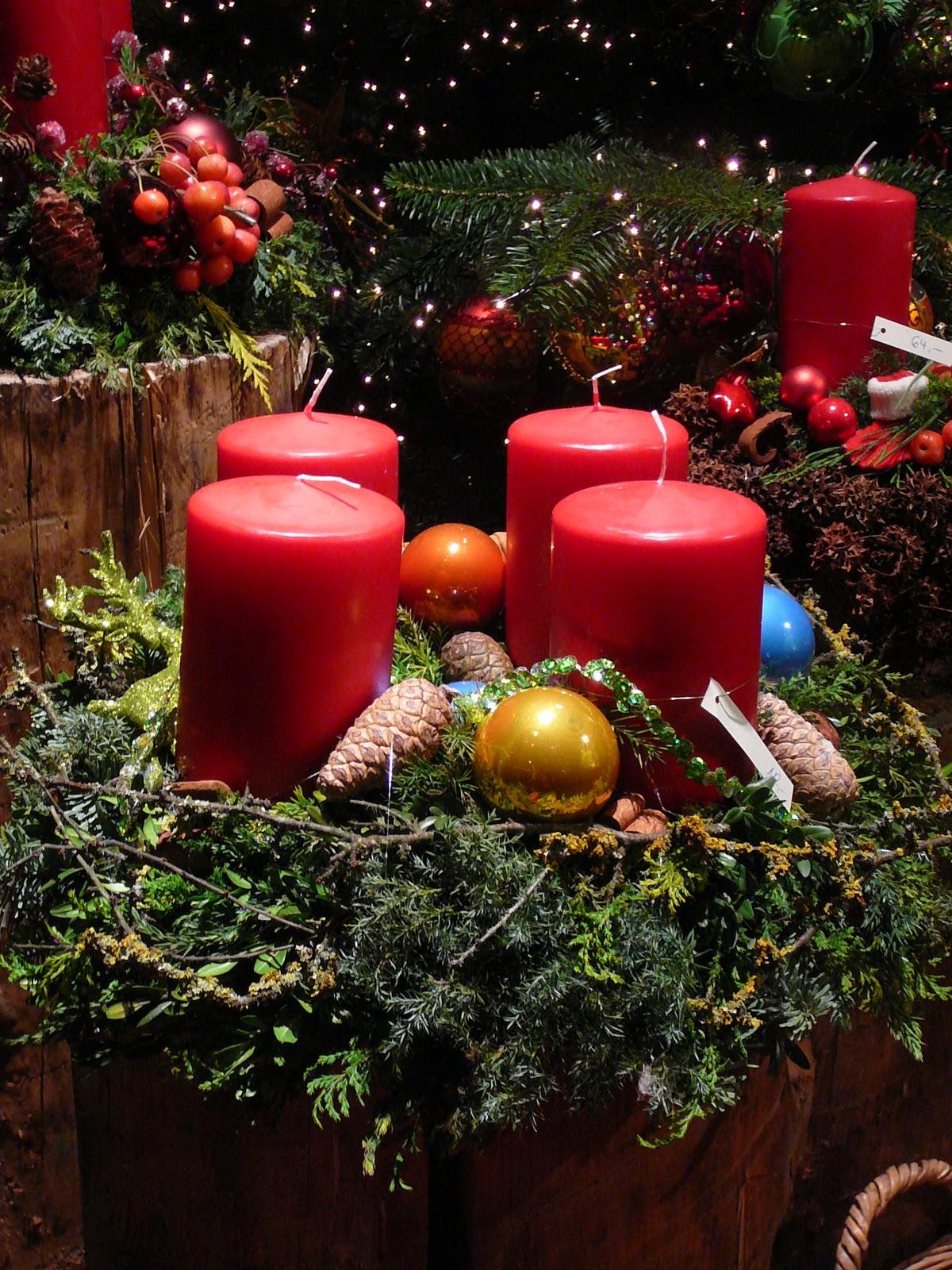 adventskranz die weihnachtsbloggerei. Black Bedroom Furniture Sets. Home Design Ideas